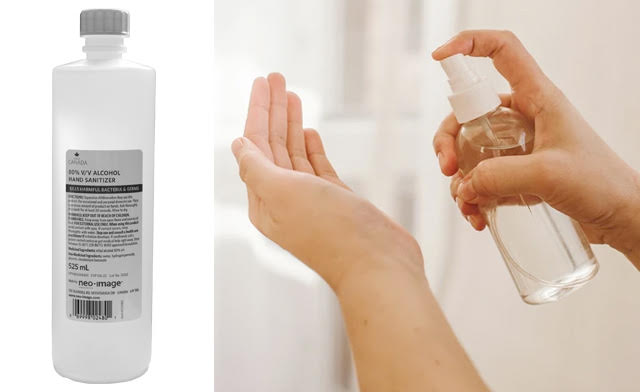 Hand Sanitizer Liquid (525mL each) - Buy a Two or Four Pack!