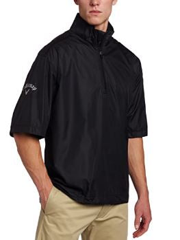 Callaway Golf Men's Short Sleeve Wind Shirt (Small & Medium Only)
