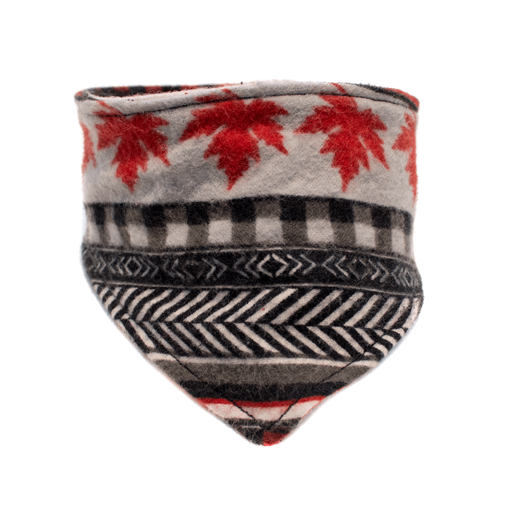 Canada Day Dog Bandana Flannel