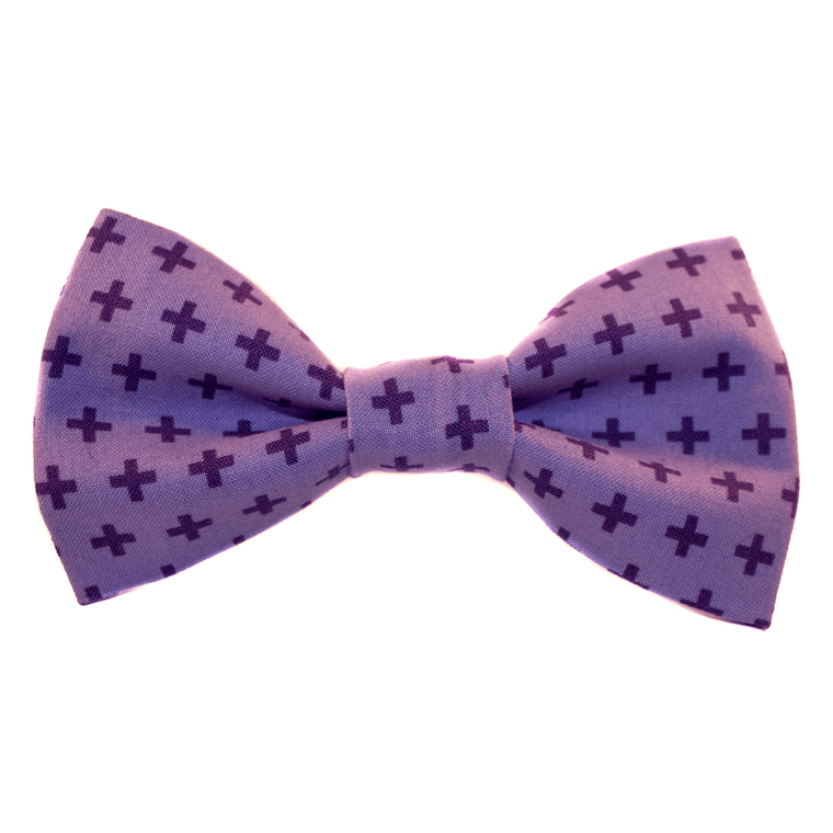 Purple Addition Bow Tie