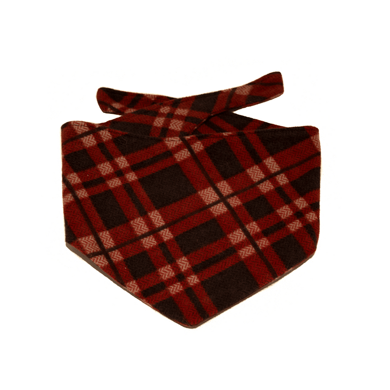 Winter Flannel Bandana