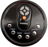 "Excelife LF-45R Tower Fan with Remote Control, 45"", Black"