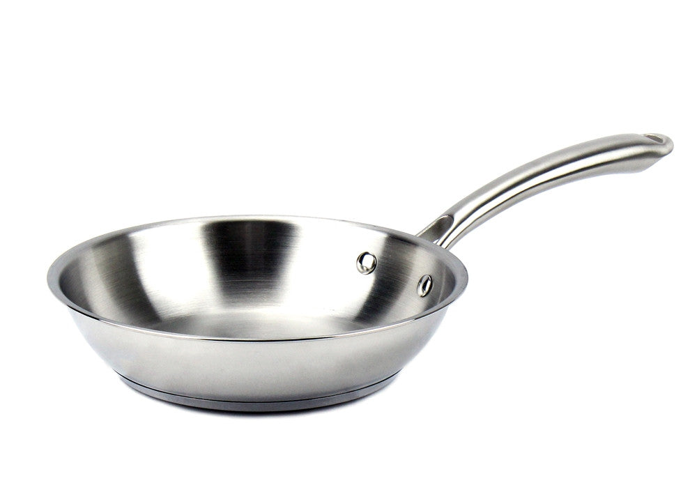 Elegna Stainless Steel Induction Fry Pan, 8""