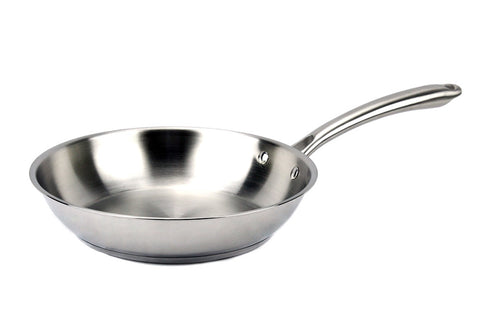 Elegna Stainless Steel Induction Fry Pan, 10""