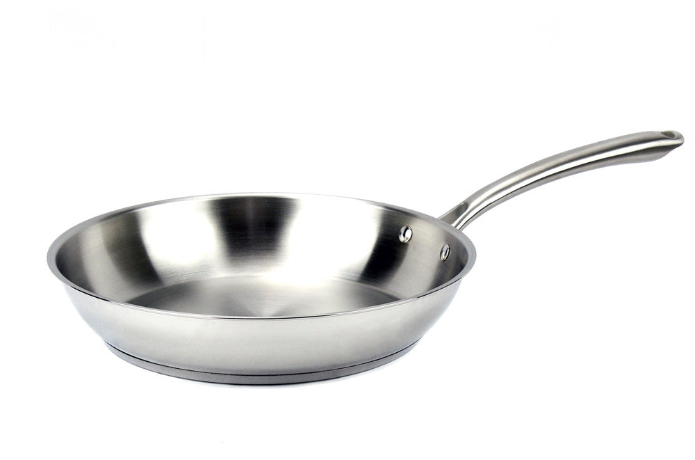 Elegna Stainless Steel Induction Fry Pan, 11""
