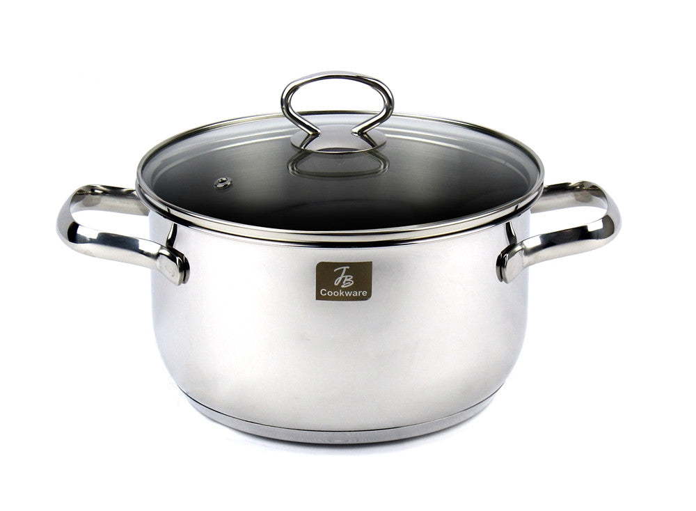 Charment  Stainless Steel Induction Stock Pot 3.5 Quart, 8""