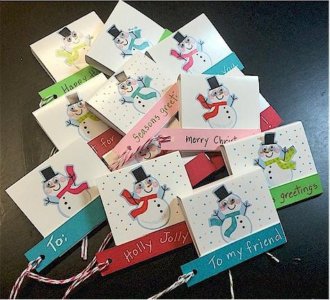 Reinventing the Gift Tag!