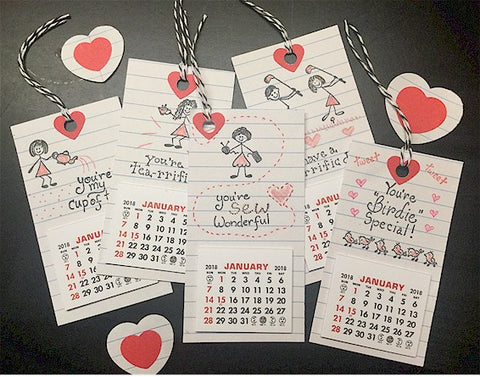 Kid-Friendly Valentine Tags/Cards: Easy-Peasy!
