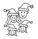PSA - Holiday Family Personalized Stamp - PSA-1032