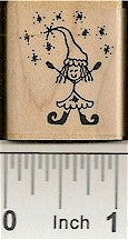 Sparkle Elf Rubber Stamp 2145C