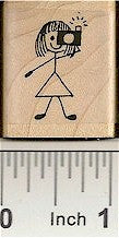 Photo Gal Rubber Stamps 2154C