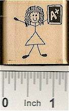 Teacher Rubber Stamp 2162D