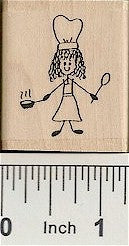Cook Rubber Stamp 2167D