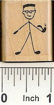 Grandpa Rubber Stamp 2189C