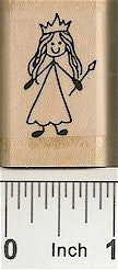 Queen Rubber Stamp 2191C