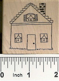House #2 Rubber Stamp 2239E