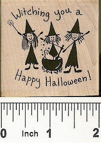 Witching You Rubber Stamp 2263F