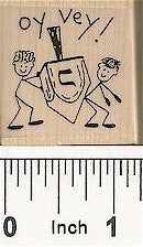 Oy Vey Rubber Stamp 2278D