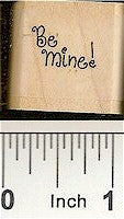 Fancy Be Mine Rubber Stamp 2297A