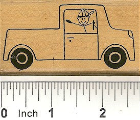 Pickup Rubber Stamp 2308H