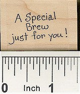 Special Brew Rubber Stamp 2316C