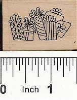 Packages Rubber Stamp 2332D