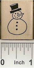 Tiny Snowman Rubber Stamp 2337C