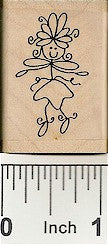 Ivy Rubber Stamp 2393D