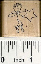 Twinkle Pal 3 Rubber Stamp 2421D