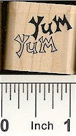 Yum Rubber Stamp 2432B