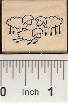 Lambs Rubber Stamp 2466D