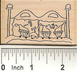 Dreaming Kids Rubber Stamp 2489F