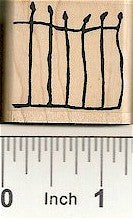 Gate Rubber Stamp 7411C