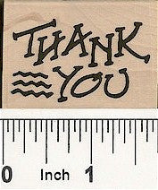 Thank You Rubber Stamp 7669D