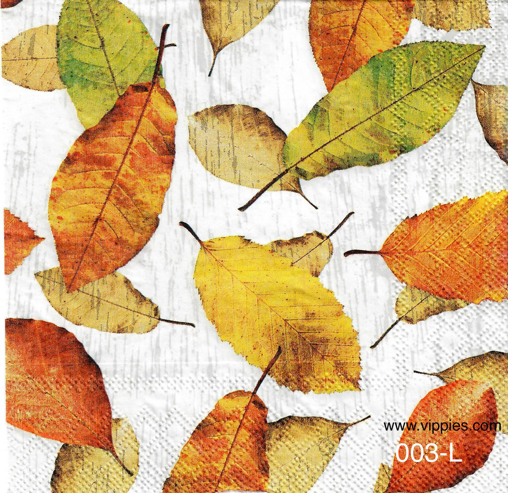 AT-003 Leaves Napkin for Decoupage