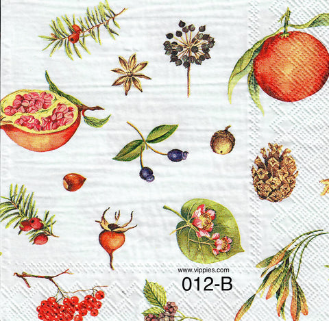 AT-012 Spices Napkin for Decoupage