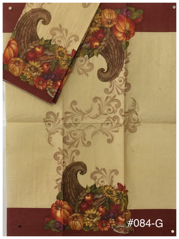 AT-084 Cornucopia Guest Napkin for Decoupage