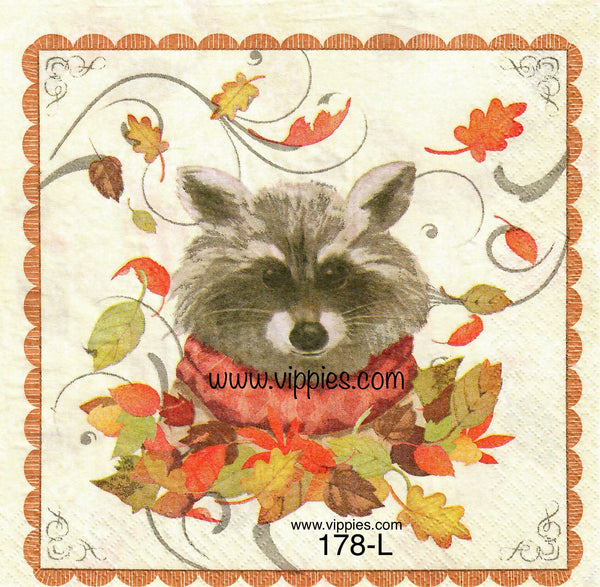 AT-178 Woodland Animal Napkin for Decoupage