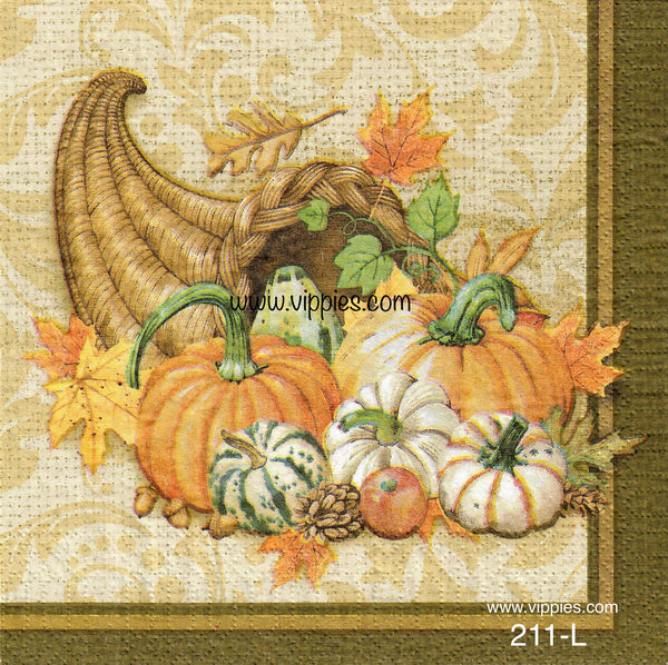 AT-211 Cornucopia 2 Napkin for Decoupage