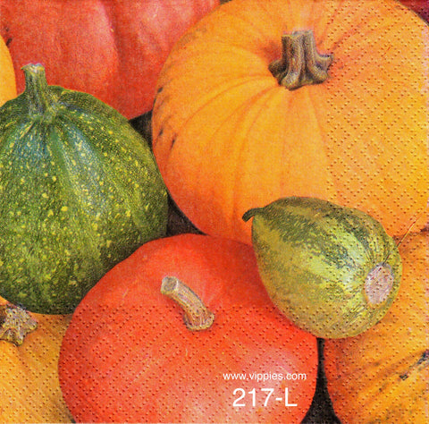 AT-217 Pumpkins Multi Napkin for Decoupage