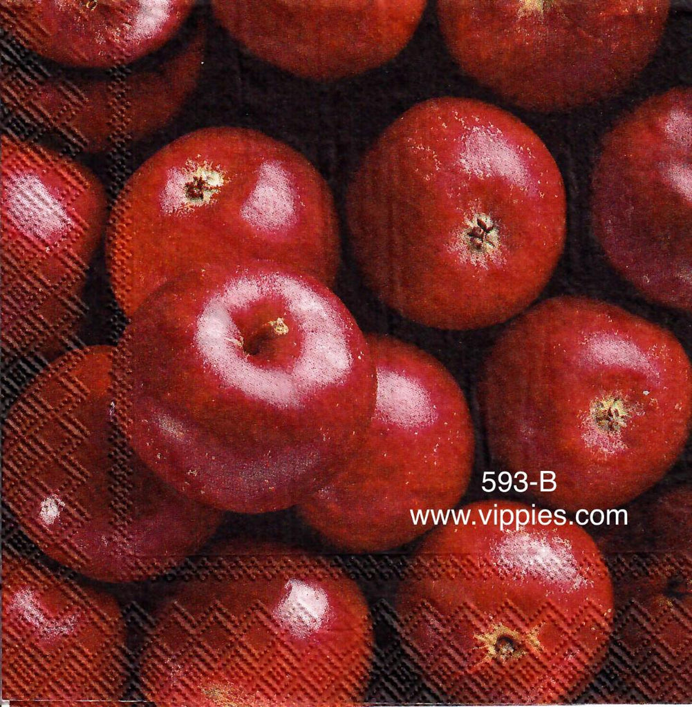 AT-593 Fall Apples Napkin for Decoupage