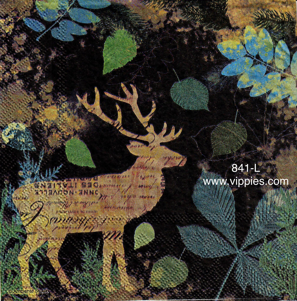 AT-841 Netherlands Deer Napkin for Decoupage