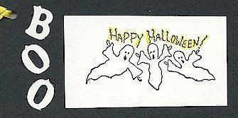 Ghosties Rubber Stamp 2139E