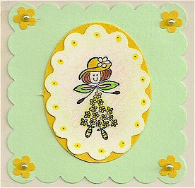 Buttercup Rubber Stamp 2377D