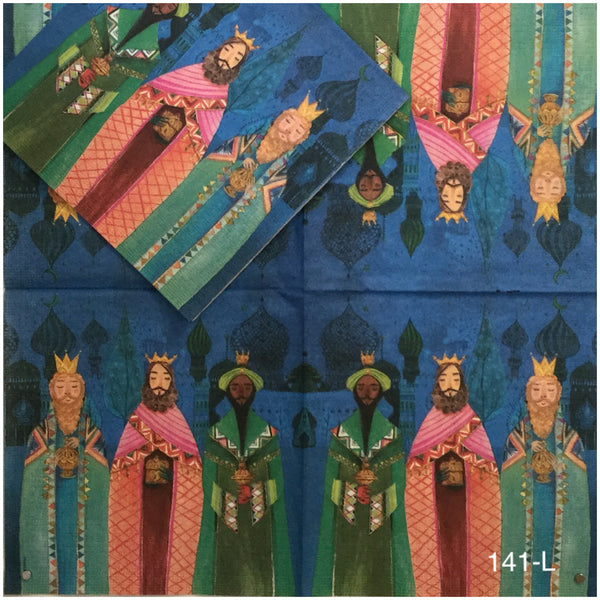 C-141 Three Kings Napkin for Decoupage