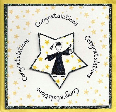 Congratulations Rubber Stamp 2370C
