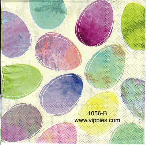 EAST-1056 Marbled Eggs Napkin for Decoupage