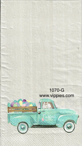 EAST-1070-G Pickup Eggs Guest Napkin for Decoupage