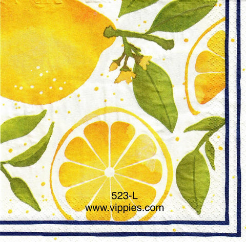 FD-523 Lemon Slices Napkin for Decoupage