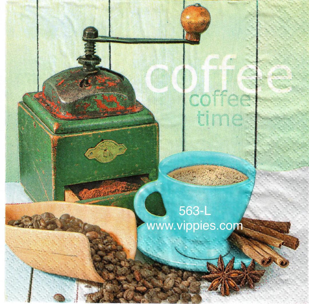 FD-563 Fresh Roasted Coffee Napkin for Decoupage